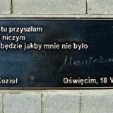 Aleja Pisarzy. Urszula Kozioł