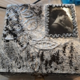Szkatułka techniką kutego srebra