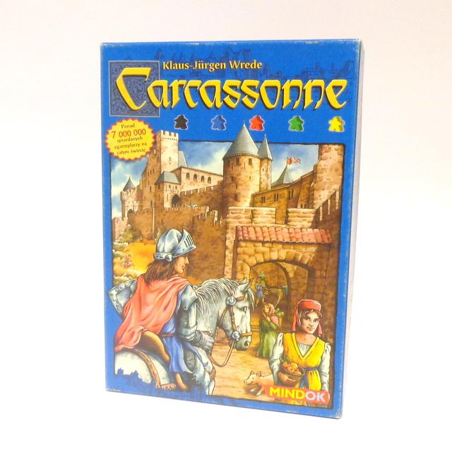 CARCASSONE. GRA PLANSZOWA