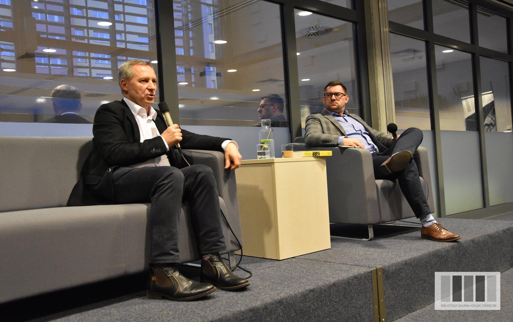 Spotkanie autorskie z Krzysztofem Zajasem