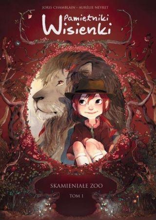 Skamieniałe zoo pamiętniki Wisienki T.1