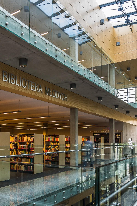 Biblioteka w reżimie