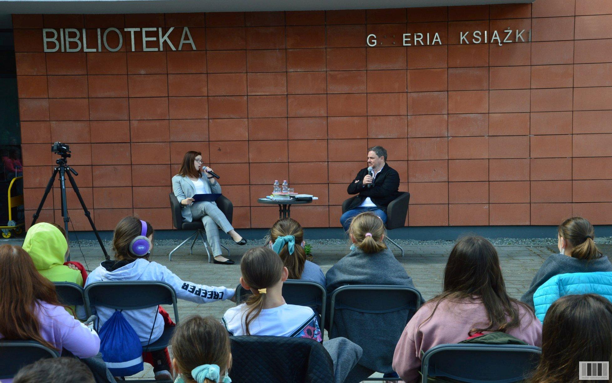 Spotkanie autorskie <br> z Grzegorzem Kasdepke