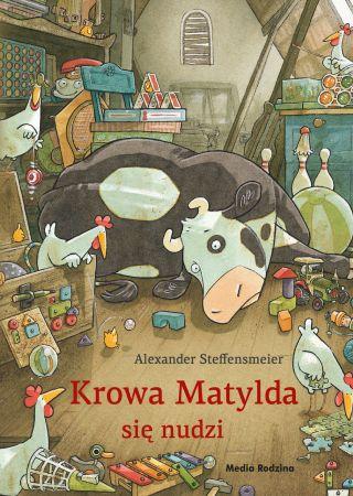 Krowa Matylda się nudzi. Alexander Steffensmeier